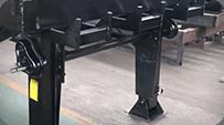 sectional loading ramp HEAVY DUTY LEGS