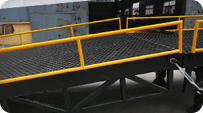 sectional loading ramp TRUSS STRUCTURE