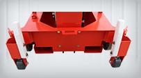 single mast lift Auxiliary Mobile Wheels