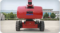 telescopic boom lift Driving mode 4*2/4*4(optional)