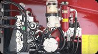 telescopic boom lift Hydraulic system