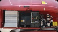 telescopic boom lift Powerful power system