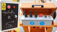 towable boom lift rainproof electric box