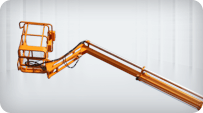 towable boom lift strong structure
