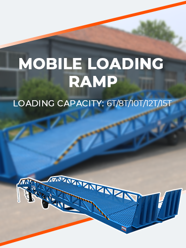 Mobile Loading Dock Ramp 1