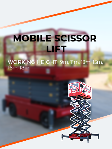 Mobile Scissor Lift 1