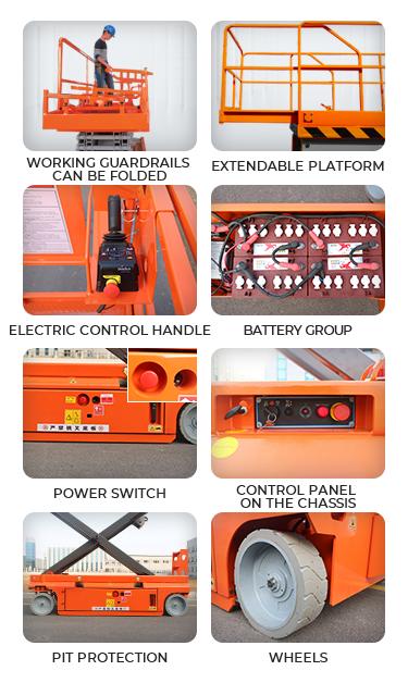 Electric Scissor Lift 4