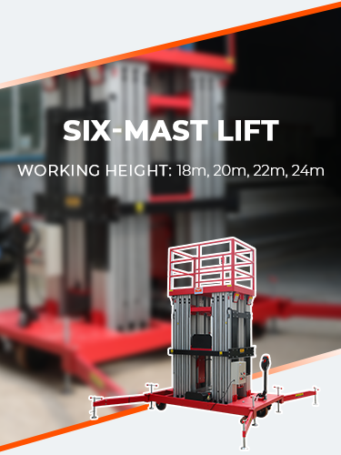 SELF-PROPELLED MAST LIFT 2