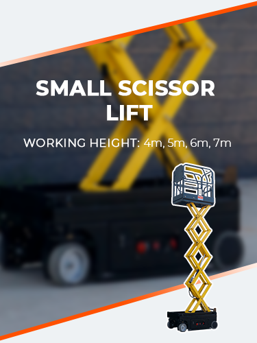 SMALL SCISSOR LIFT 2
