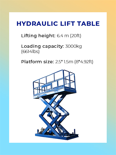 Hydraulic Lift Table 2