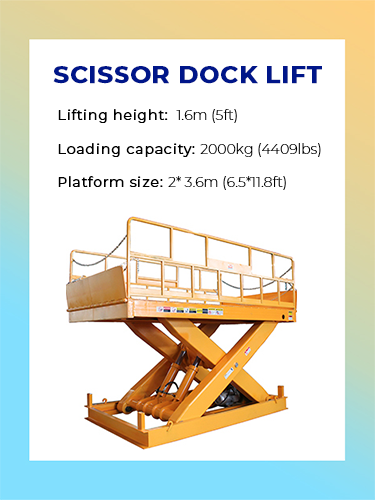 Scissor Dock Lift 1