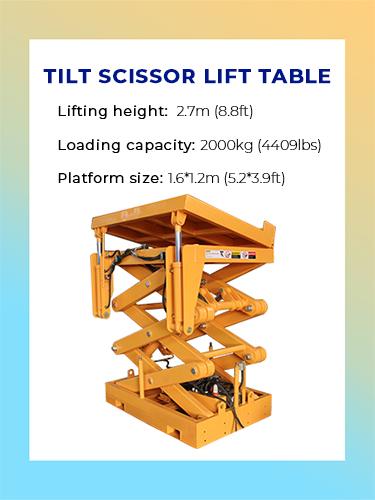 Tilt Scissor Lift Table 1