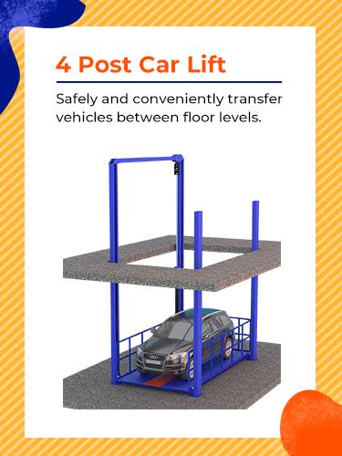 4 Post Car Lift 1
