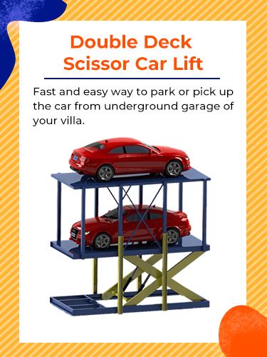 Double Deck Scissor Lift Car Lift 1