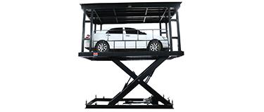 Double Deck Scissor Lift Car Lift 2