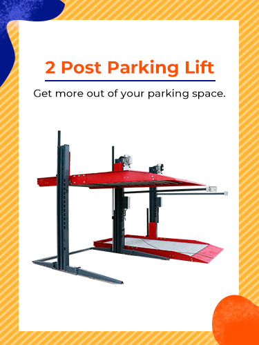 2 Post Parking Lift 2