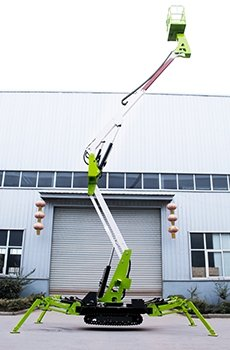 tracked spider lift 5