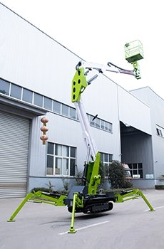 tracked spider lift 3