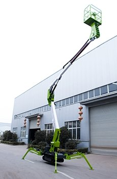 tracked spider lift 2