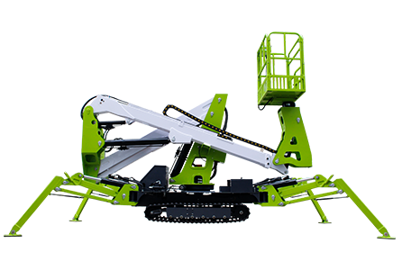tracked spider lift 6