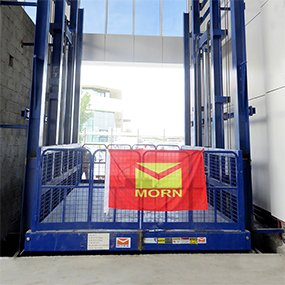 four post cargo lift - MORN LIFT