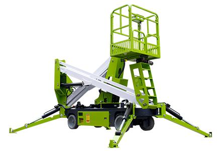 wheeled boom lift 5