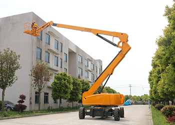 tracked spider lift 10