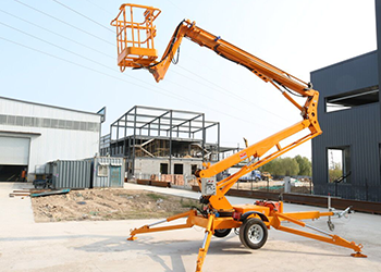 tracked spider lift 9