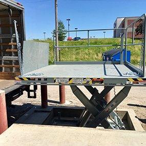 scissor lift table from MORN LIFT